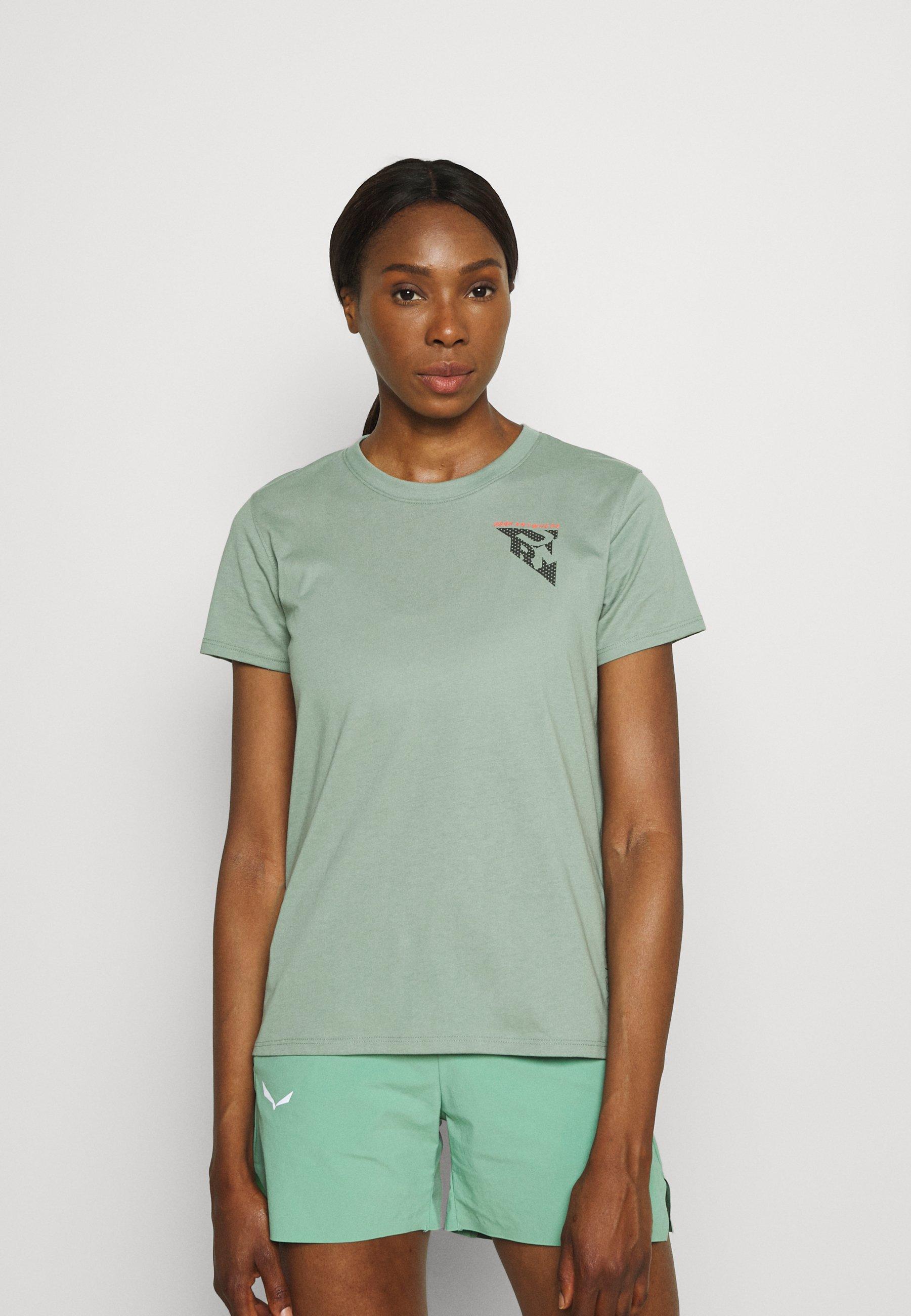 Women RUN ANYWHERE SHORT SLEEVE - Print T-shirt
