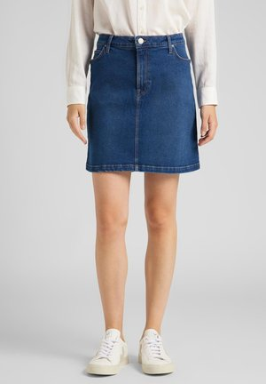 Denim skirt - dark dora