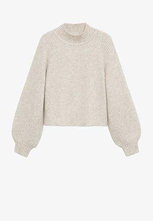 MERLO - Pullover - hellgrau/pastellgrau