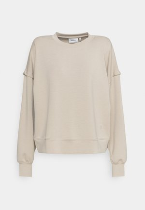 CHRISDA - Sweatshirt - beige