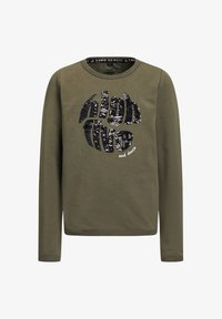 WE Fashion - Sweater - army green - 0
