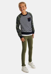 WE Fashion - Jeans Skinny Fit - army green - 0