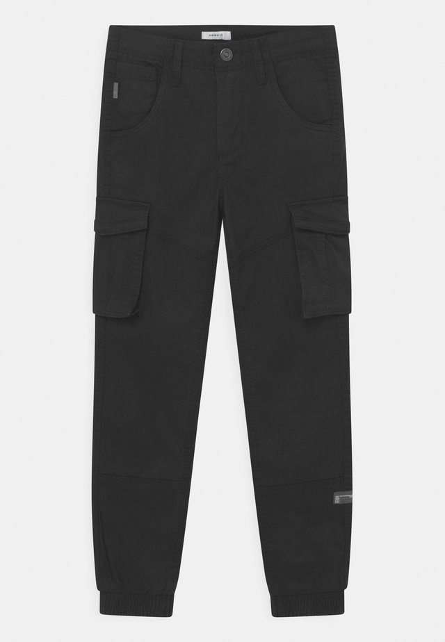 NITBAMGO  - Pantaloni cargo - black