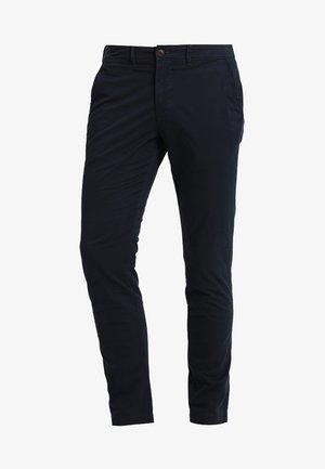 SUPER SLIM - Trousers - navy
