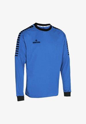 Long sleeved top - blauschwarz