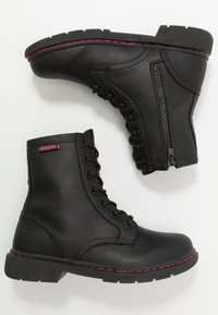 Kappa - DEENISH - Outdoorschoenen - black/pink - 1