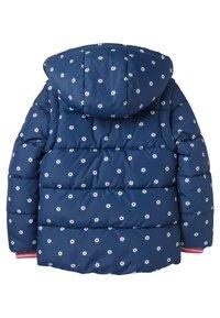 Boden - KUSCHELIGE 2-IN-1-JACKE MIT WATTIERUNG - Winter jacket - schuluniform-navy, geometrisches blumenmuster - 1
