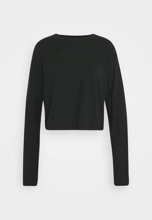 SKYLAR - Long sleeved top - black