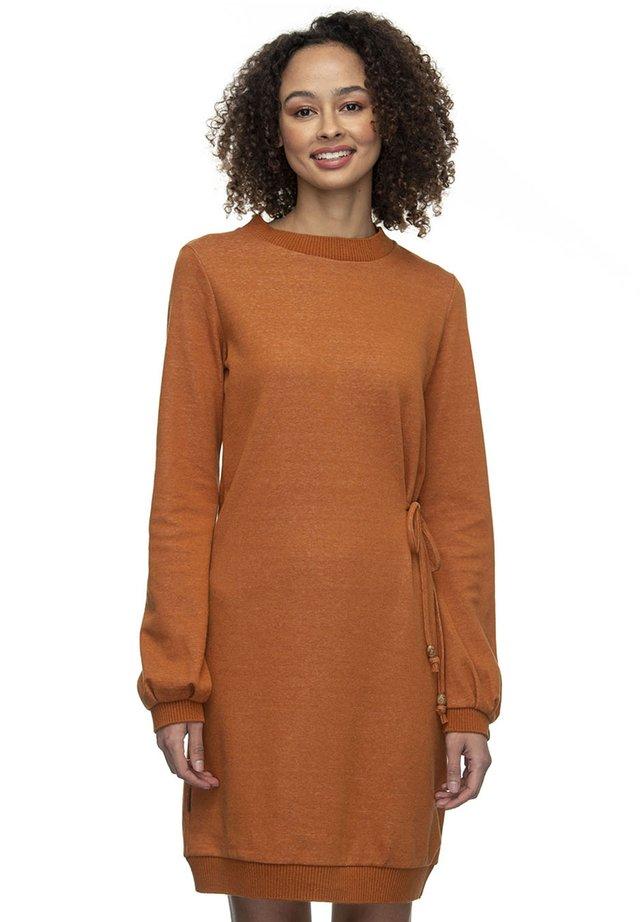 Day dress - pumpkin