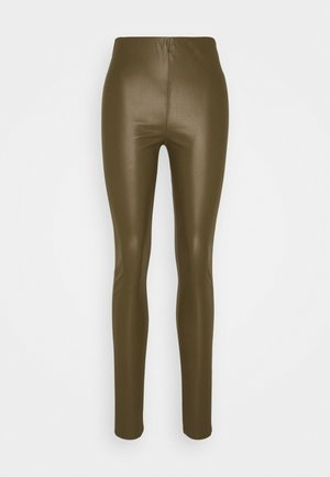 KAYLEE - Leggings - Trousers - military olive
