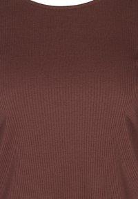 Zizzi - Long sleeved top - brown - 3