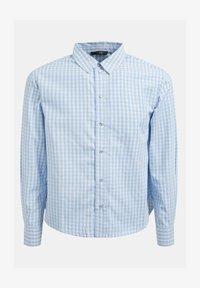 Guess - Button-down blouse - mehrfarbig, grundton blau - 3