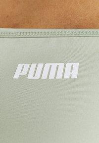 Puma - PAMELA REIF X PUMA SQUARE NECK BRA - Sport-BH mit mittlerer Stützkraft - desert sage - 5