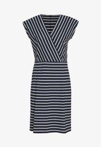 Betty & Co - Jersey dress - blue/cream - 0