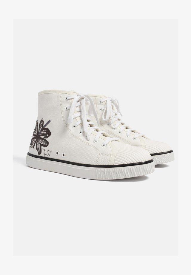 SOTO - Sneakersy wysokie - white