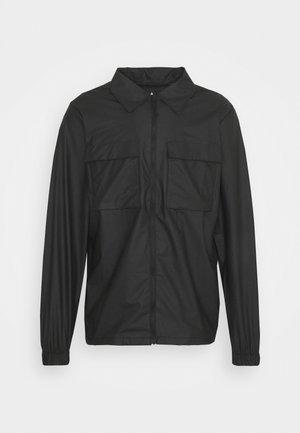 ULTRALIGHT ZIP UNISEX - Vodotěsná bunda - black