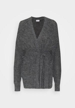 VITIKTA CARDIGAN - Cardigan - dark grey melange