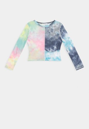 LADIES TOP TIE DYE - Blouse - multi-coloured