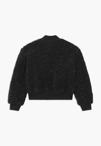 Nike Sportswear - SHERPA SHINE - Bomber Jacket - black/gold - 1