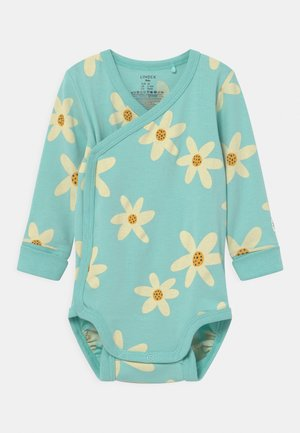 WRAP FLOWER - Body - dusty aqua