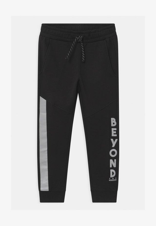 MINI EFFECTS - Teplákové kalhoty - black