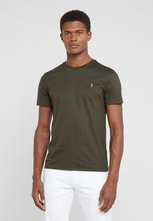 PIMA - T-shirt basic - estate olive
