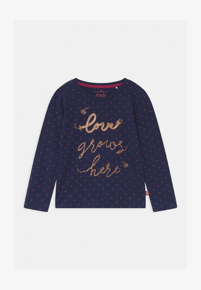 GIRLS  - Top sdlouhým rukávem - navy blazer