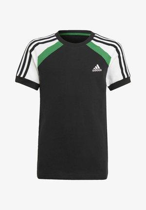 B BOLD TEE - T-shirt imprimé - black