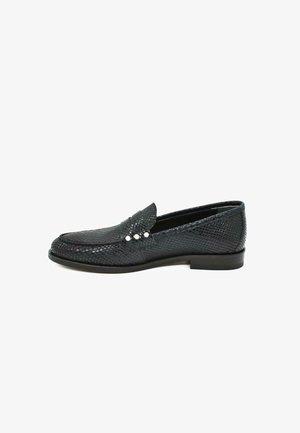 Loaferit/pistokkaat - sparkle black
