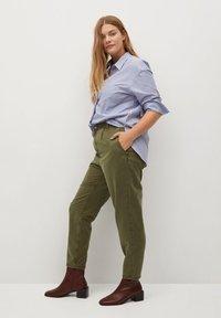 Violeta by Mango - RITA - Trousers - khaki - 3