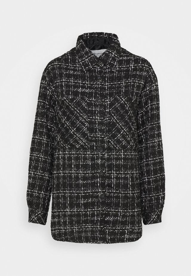 BYERICA - Classic coat - black mix