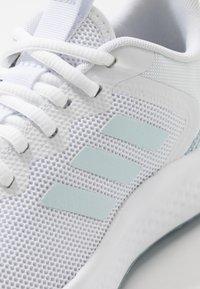 adidas Performance - FLUIDSTREET - Obuwie treningowe - footwear white/sky tint/blue - 5
