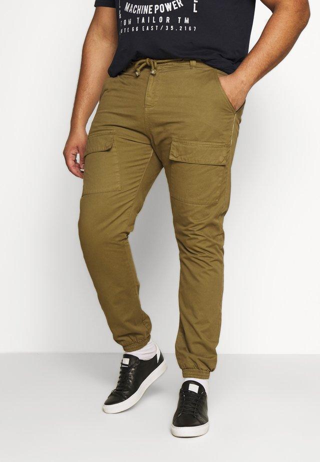 FRONT POCKET PANTS - Cargo trousers - summerolive