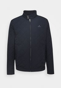 GANT - QUILTED WINDCHEATER - Chaqueta de entretiempo - evening blue - 4