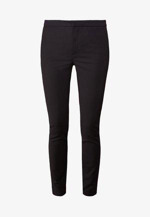CRISTIN - Spodnie materiałowe - black