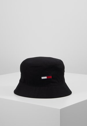 FLAG BUCKET HAT - Hat - black