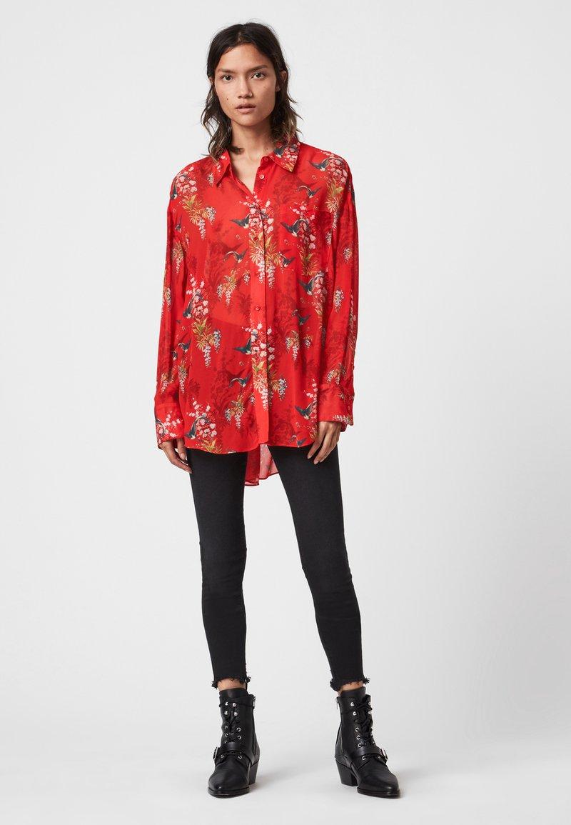 AllSaints - Skjortebluser - red