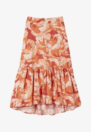 RITA - A-line skirt - brown