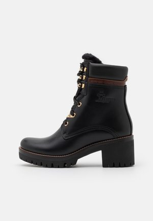 PHOEBE BROOKLYN - Platform ankle boots - black