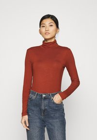 Anna Field - Long sleeved top - dark red - 0