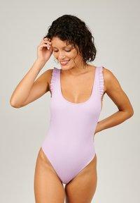 Girls in Paris - Swimsuit - purple - 1