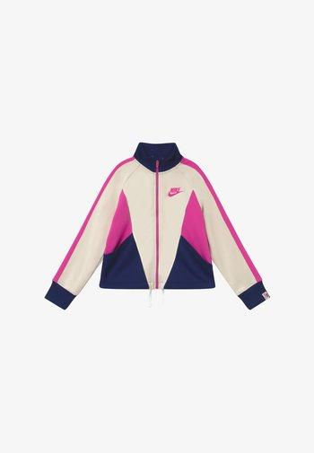 G NSW HERITAGE FZ - Training jacket - orewood/blue void/fire pink