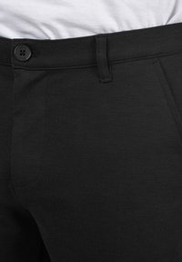 Solid - Trousers - black - 3