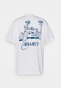 Carhartt WIP - ORBIT - Printtipaita - white/blue - 1
