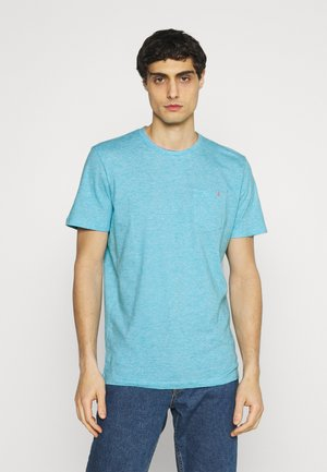 FINELINER WITH POCKET - Basic T-shirt - teal
