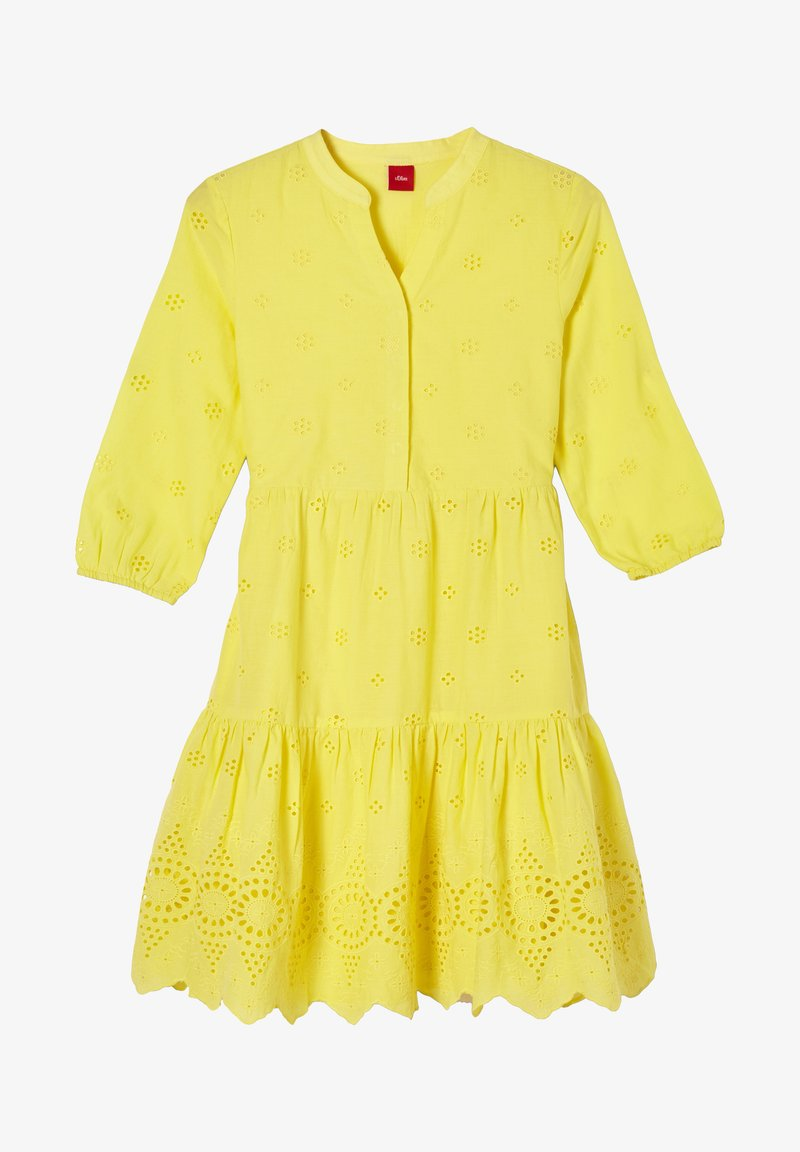 s.Oliver - Day dress - yellow