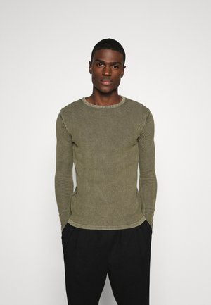 DOT - Strickpullover - army