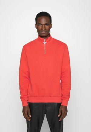 HALF ZIP - Sweatshirt - red