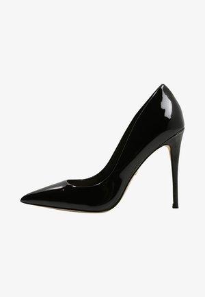 STESSY - Lodičky na vysokém podpatku - black patent