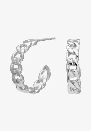 Oorbellen - silver